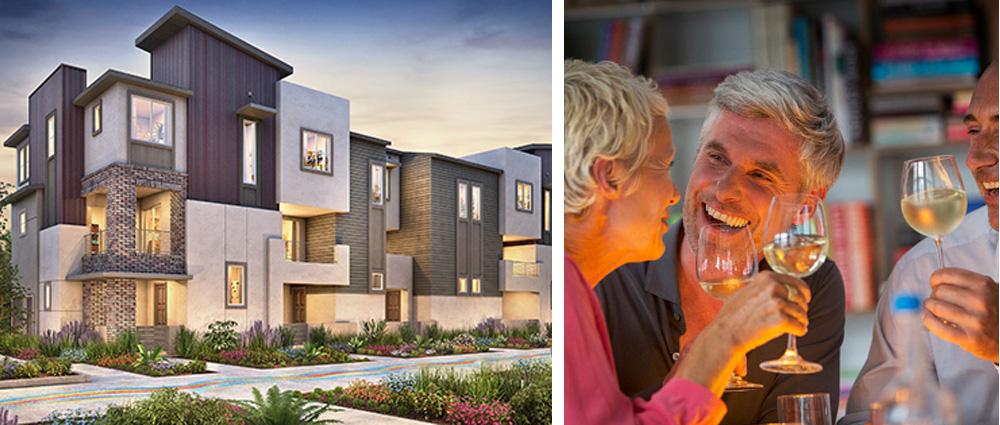 Urban houses for sale chula vista otay ranch san diego area millenia for Shea homes design center san diego